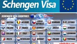 Hồ sơ làm visa schengen