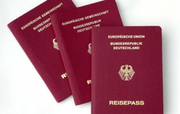 hồ sơ xin visa đi đức
