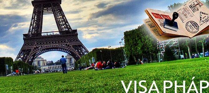 hướng dẫn xin visa đi Pháp