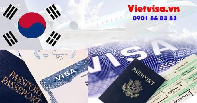 Các loại visa Hàn Quốc