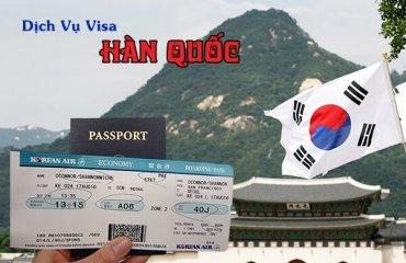 dịch vụ làm visa hàn quốc nhanh