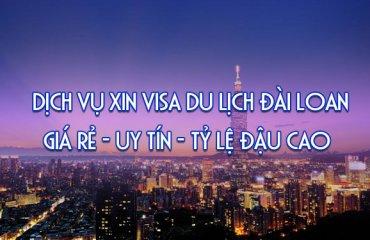 dịch vụ làm visa đi đài loan trọn gói