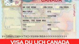 kinh nghiệm xin visa du lịch canada tự túc
