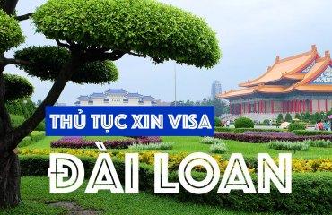 Thủ tục xin cấp visa du lịch đài loan 10 năm