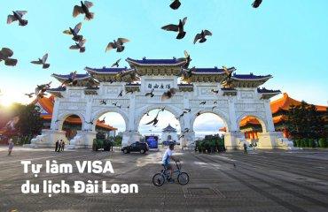 Làm visa đi du lịch đài loan tự túc 2017