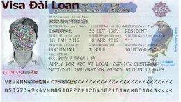 Dịch vụ chuyên làm visa Đài Loan